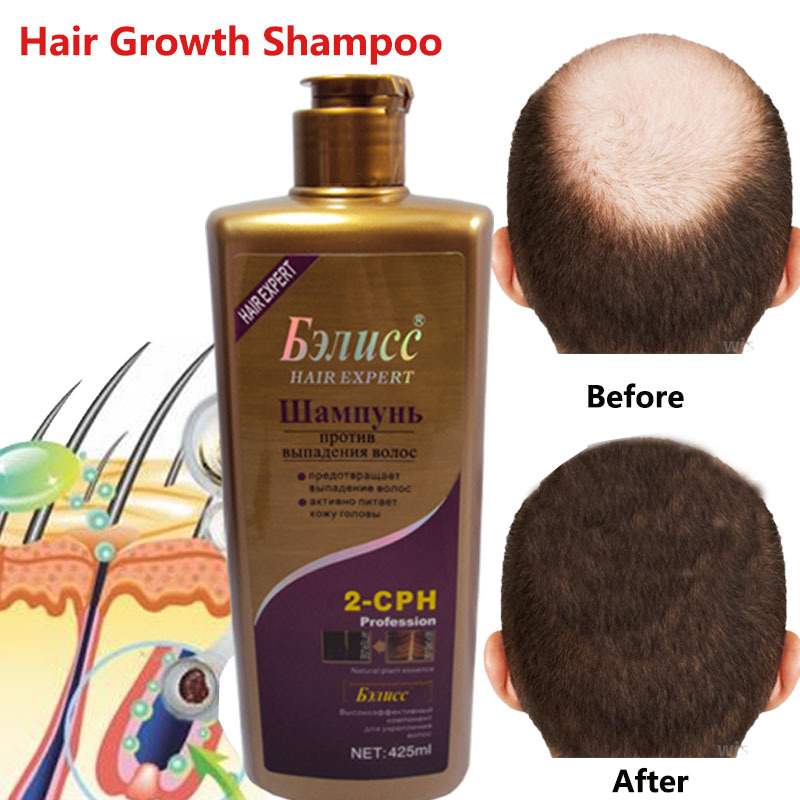 Hair Shampoo Anti-off Hair Growth Natural Herb Anti dandruff Shampoo Professional Care 425ml brelil professional anti oily hair shampoo