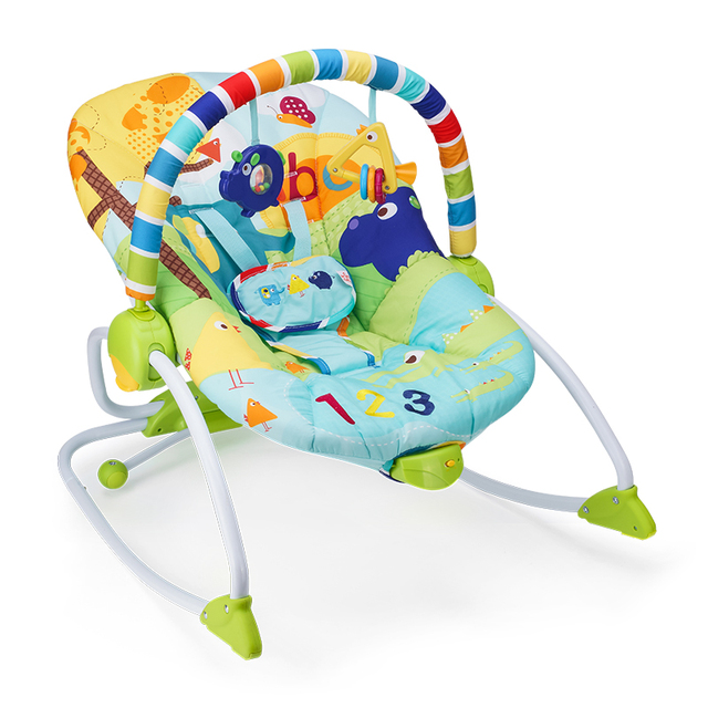 10d16a9d3e6a Adjustable Baby cradle multi function baby bouncer swing electric ...