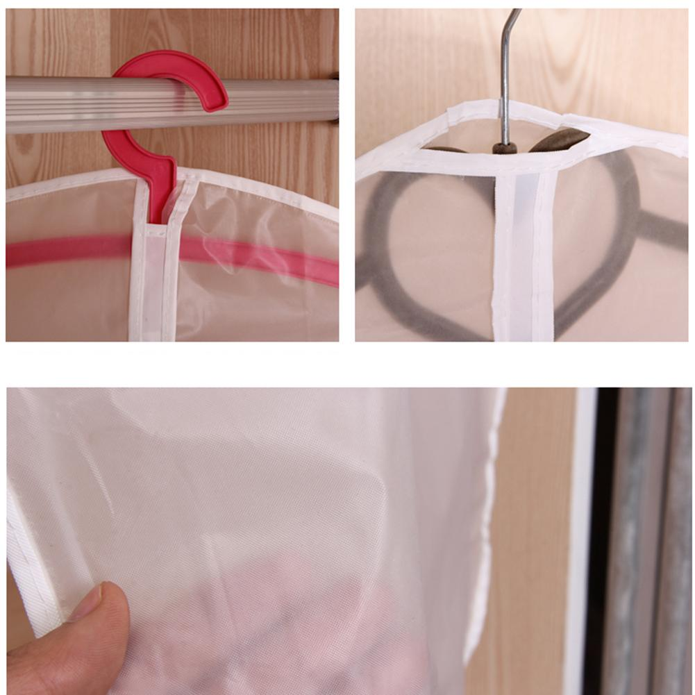 Transparent Wardrobe Storage Bag Cloth Hanging Dress