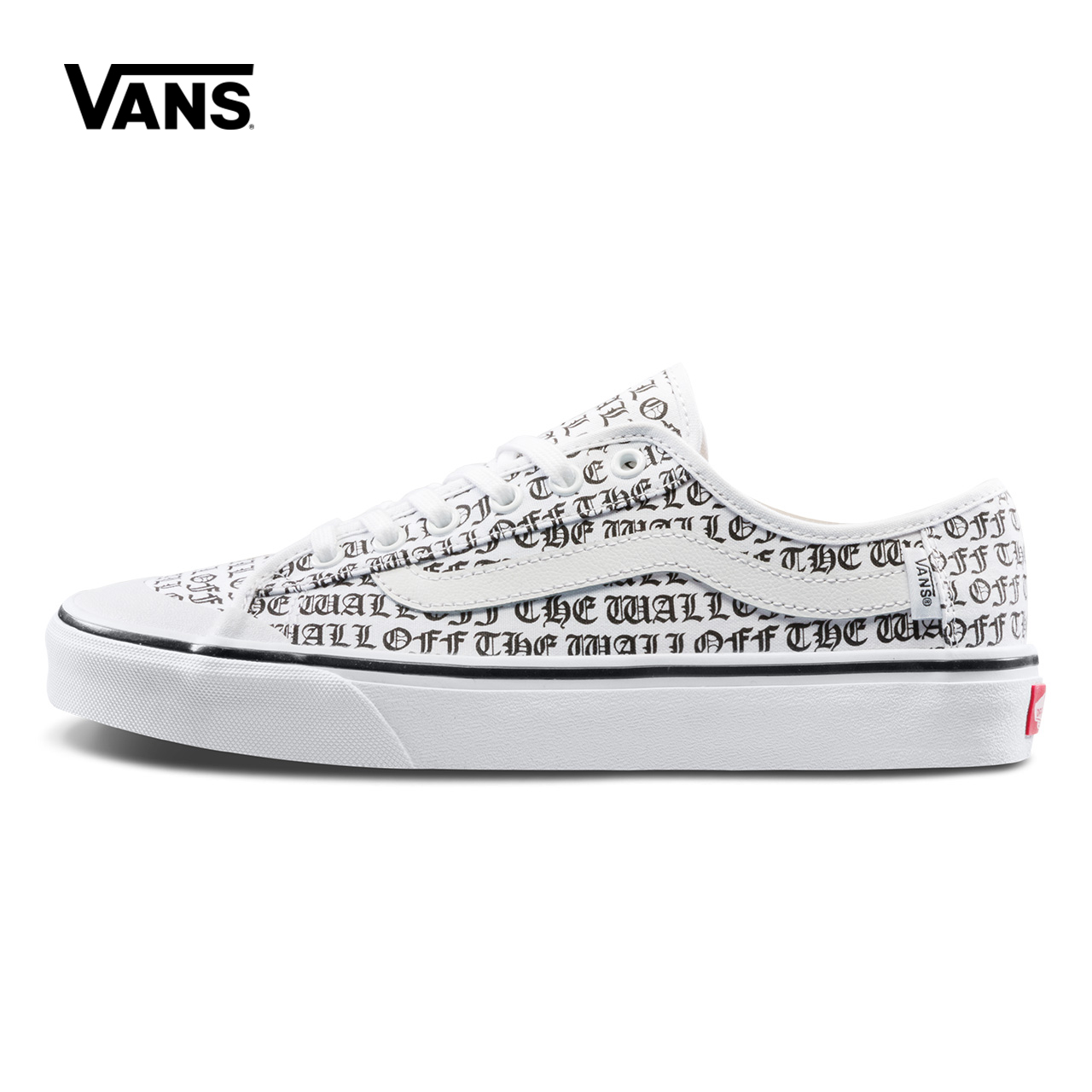 Unisex Vans Shoes White Letter Printed Low-top Skateboarding Shoes Sneakers Sport Outdoor Canvas Vans Sneaker VN0A3QXZT1Z adriatica часы adriatica 3143 2113q коллекция twin