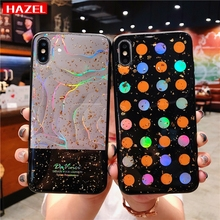Купить с кэшбэком HAZEL New Case For iphone X 10 Fashion Luxury Wear-resistant anti-slip soft shell For iphone 6 6S 7 8 Plus XR XS Max Cases Cover
