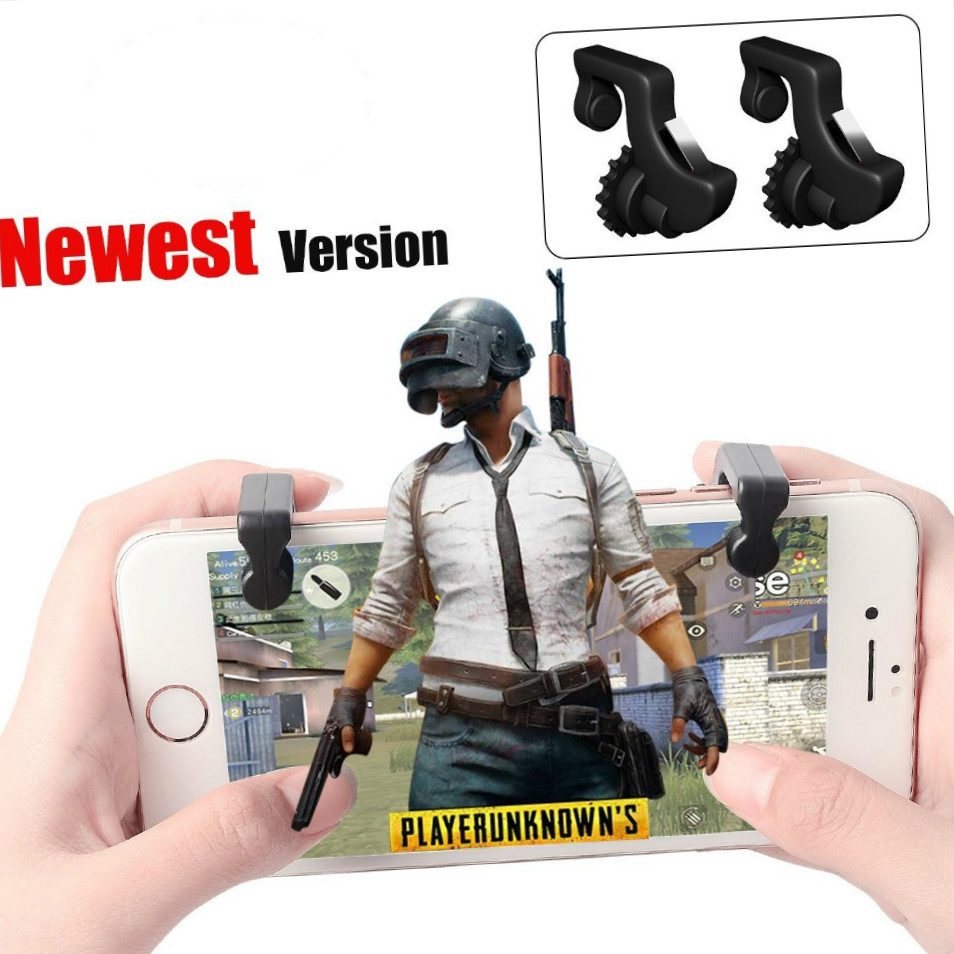 Knives Out Rules Ff Survivl Mobile Game Fire Button Aim Key Smart Phone Mobile Gaming Trigger L1 R1 Shooter Controller PUBG image