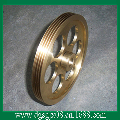 Excellent Conductive Brass Wire Idler Pulley With Nickel For Annealing Machine chrome oxide plated steel wire guide pulley for wire industry