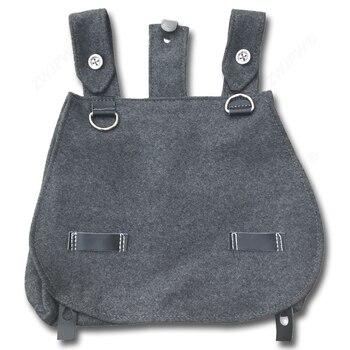 WW2 армейский мешок для хлеба, серый шерстяной мешок для охоты DE/107101