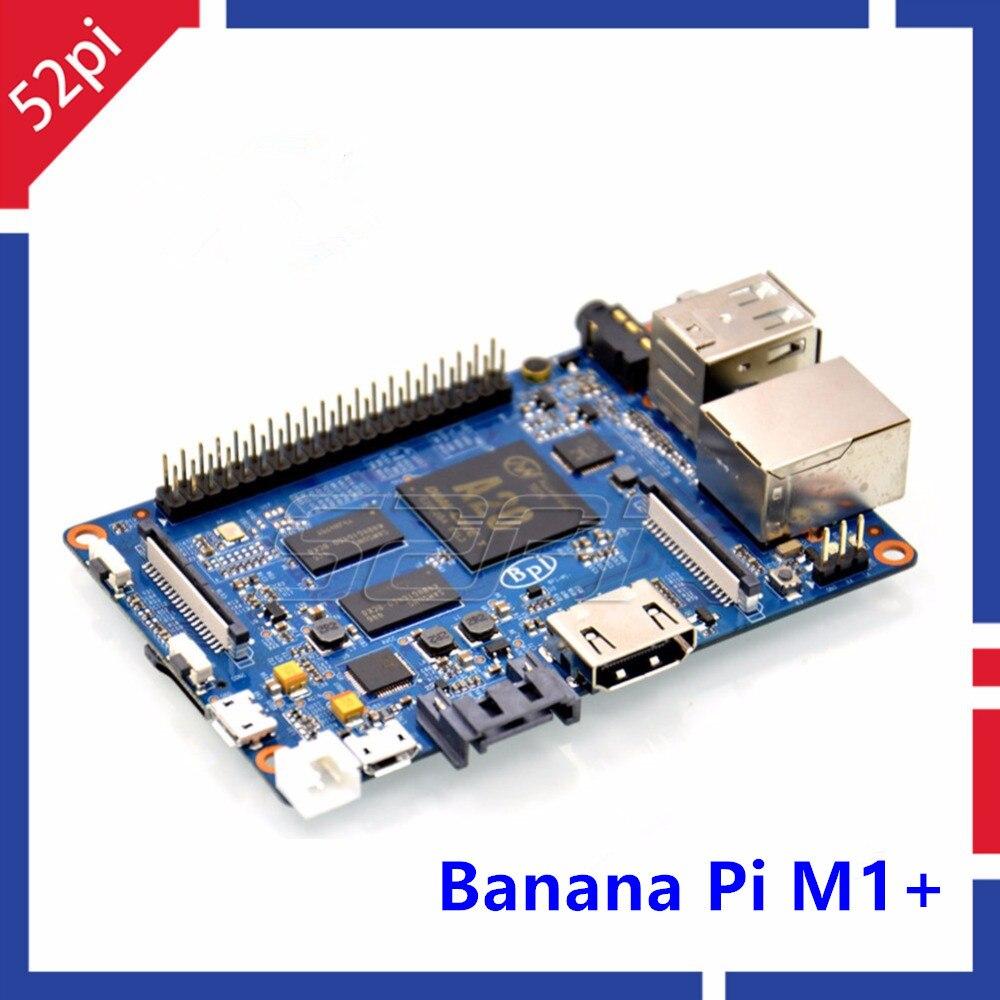 Banane Pi M1 + plus BPI-M1 + double coeur A20 1 go de RAM à bord WiFi Open-source singel-board ordinateur SBC