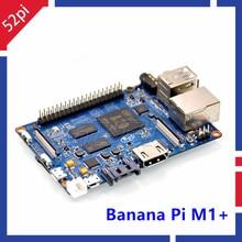 В наличии! Банан Pi M1 + плюс BPI-M1 + Dual Core A20 1 ГБ Оперативная память на борту Wi-Fi с открытым исходным кодом Singel бортовой компьютер sbc