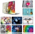 Printing Drawing Hard Case Cover For Apple macbook Air 11 13 Pro Retina  12 13 15 laptop bag For Mac book 13.3 inch