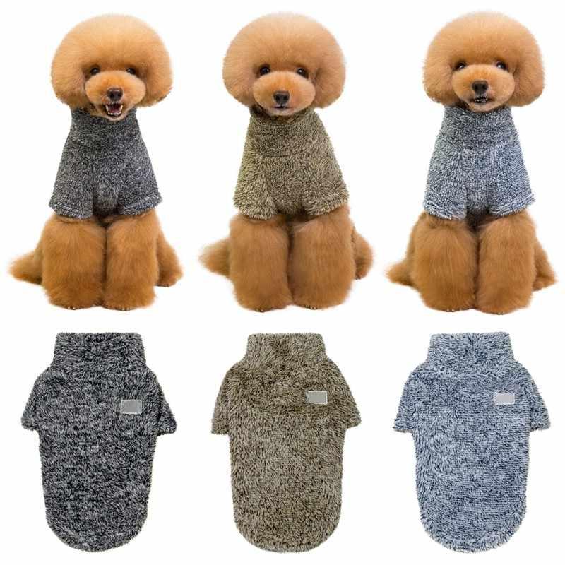 Теплая одежда с принтом в виде собак утепленная маленькие собаки, питомцы, пальто на детей, теплые зимние щенок Костюмы йорков Чихуахуа Вельветовая одежда для детей