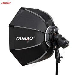 90cm Photo Portable Outdoor Speedlite Flash Bowens mount Octagon Umbrella Softbox  CD50 T10 3Y