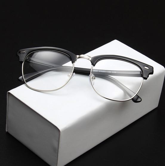 93486ded7f41 MOYSSEN Men Brand Designer Retro Eyeglasses Frame Vintage Prescription  Myopia Reading Glasses Women 3016 Optical Eyewear oculos-in Eyewear Frames  from ...