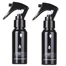 2 шт. 60 мл Парикмахерская многоразовая распылительная бутылка Pro парикмахерский пластиковый распылитель пустая бутылка для воды парикмахерские инструменты для укладки