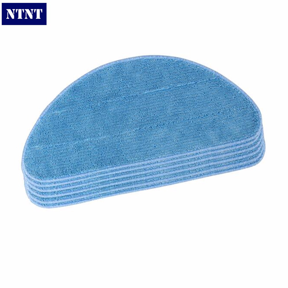 NTNT 5 Pcs Microfiber Mop Cloth Washable for Home Cleaning for CEN540 CEN540-MI CEN546 Robot Vacuum Cleaner 1pcs euro pro shark steam mop replacement microfiber pads s3250 3250 s3202 3202 s3101 3101