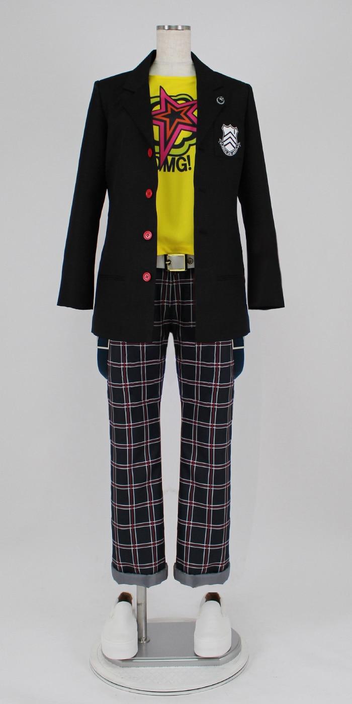 Persona 5 Ryuji Sakamoto kostyumlu kostyum - Karnaval kostyumlar - Fotoqrafiya 2
