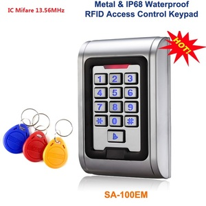 Metal Access Control keypad Wa