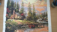 Landscape Painting By Numbers DIY Christmas Gift