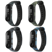 Buy For Mi Band 3 Strap Mi Band 3 Accessories Replacement Silicone Varied Wrist Strap for Xiaomi Mi 3 Smart Bracelets 4 Colors directly from merchant!
