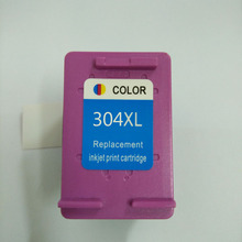 Vilaxh compatible Tri-color 304 xl Ink Cartridge replacement for HP 304xl Deskjet 3700 3720 3730 3732 Printer