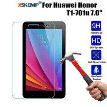 XSKEMP 9H Tempered Glass For Huawei Honor T1-701u 7.0″ Ultra Clear Screen Protector Tablet PC Anti-scratch Protective Film Guard