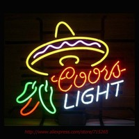Coors Light Cayenne Cushaw Neon Sign Neon Bulbs Led Signs Real Glass Tube Handcrafted Decorate Pub