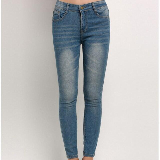 Trousers Jeans For Women Fashion Jeans Woman Denim Blue Women's Jeans Femme Pencil Skinny Women Jeans Pants Slim