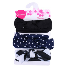 3 Pcs/Set Floral Bows Baby Heaband Cute Girl Kid Big Bow Hairband dress up headband fashion HairBand For