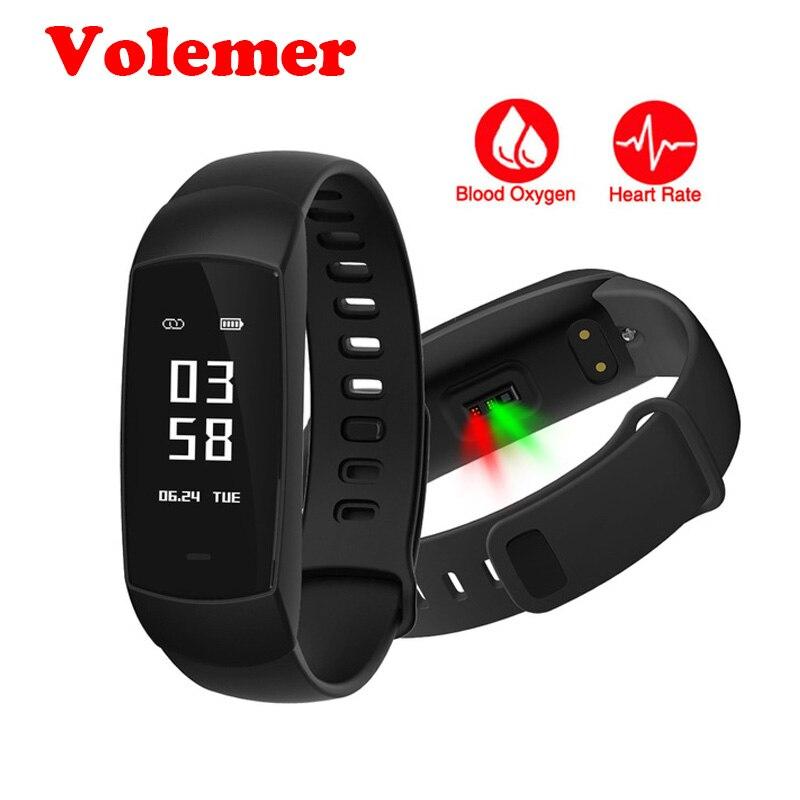 Volemer Smart Wristband V09 Heart Rate Monitor Blood Oxygen Test Smart band Activity Fitness Sleep Health Smart Bracelet