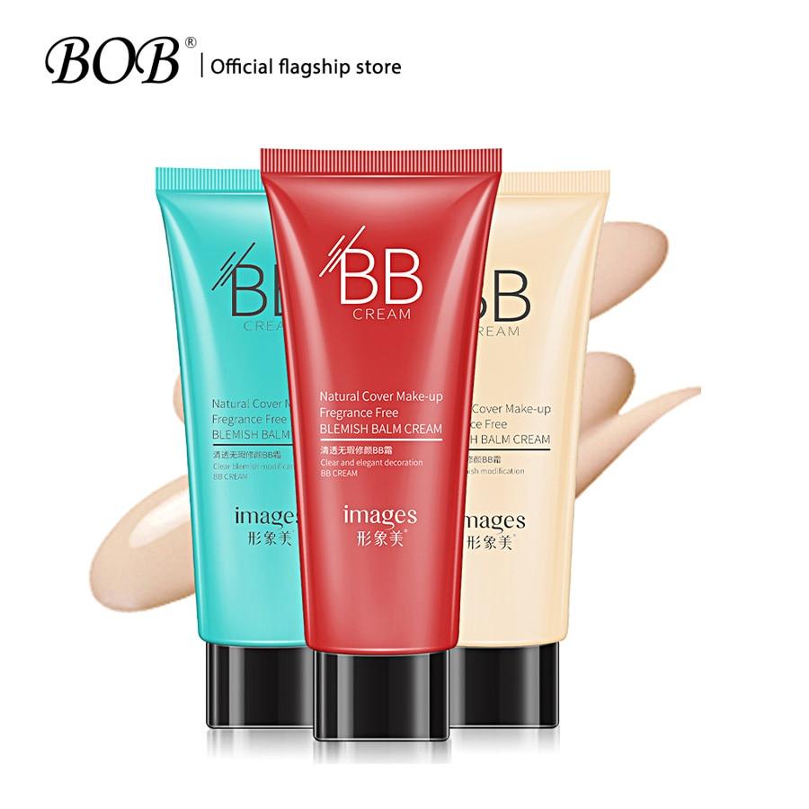 BOB Brand 40 BB CC Cream Brighten Concealer Makeup BB Cushion Foundation Long Lasting Waterproof Face Whitening BB Cream Makeup