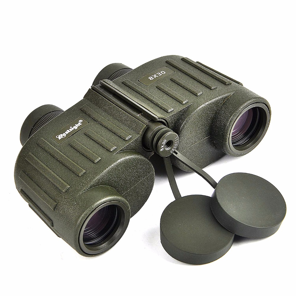 Military 8x30 Binocular Bestsight Marine Telescope for Hunting Hiking and Camping View Larger High Clear