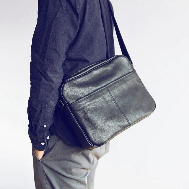 LANSPACE dos homens mensageiro saco de couro saco corpo cruz novo design sacos de ombro bolsa de Lazer