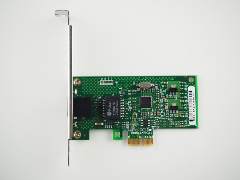 NEW RJ45 PCI-E X1 10/100/1000M Gigabit Ethernet Network Card Server Adapter Nic 82574L EXPI9301CT/9301CT Network Adapter for PC