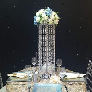 Centres de table de mariage de 70cm   vase à fleurs en cristal, porte-fleurs pour décoration, artisanat en métal, mode