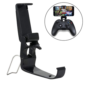 Mobile Cell Phone Stand For Xbox One S/Slim Controller Mount HandGrip For Xbox One Gamepad For Samsung S9 S8 Clip Holder(China)
