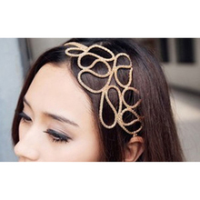 2017 NEW Stylish Hollow Out Braided Stretch Hair Head Band Accessories Headband Hairband