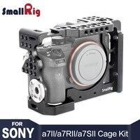 SmallRig A7m2 Камера клетка установка для sony a7II/a7RII/a7SII с ARRI розетки крепление и Холодный башмак кабель HDMI зажим 1982