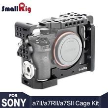 SmallRig A7 Serie Kamera Käfig für Sony a7II/a7RII/a7SII Mit ARRI rosette Montieren und Kalten Schuh Montieren