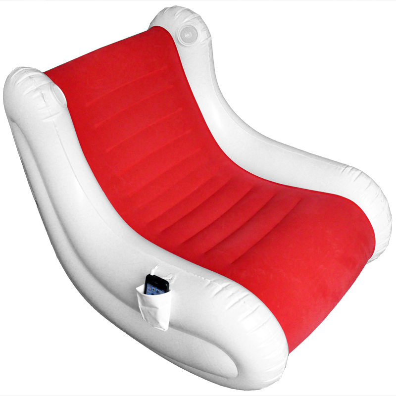 EC Music Jilong Inflatable Sofa Sofa Leisure Sofa Stereo Music Recliner  Rocking Chair JL037007N FREE SHIPPING In Living Room Sofas From Furniture  On ...