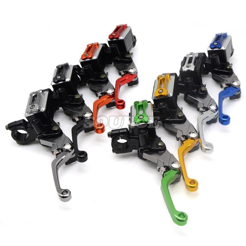 Здесь можно купить  Universal refitting parts CNC ASV brake clutch Lever with pump Fit Most Motorcycle Dirt Pit Bike Motorcross CRF KLX YZF RMZ  Автомобили и Мотоциклы