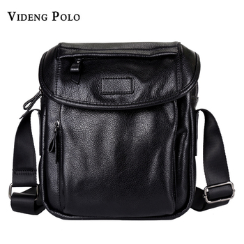 07dff8e89 Hot Deals VIDENG POLO Brand Men High Capacity Fashion Leather Casual  Crossbody Shoulder Bag Business Travel Messenger Bags Male Bolsas