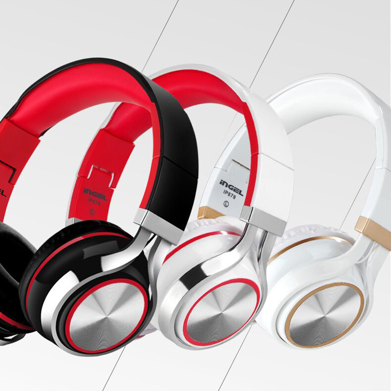 Stereo Headphone 3.5mm Studio Headphones DJ Earphones Middle Headset High Quality Headphones For Iphone Ipad Mp3 Player