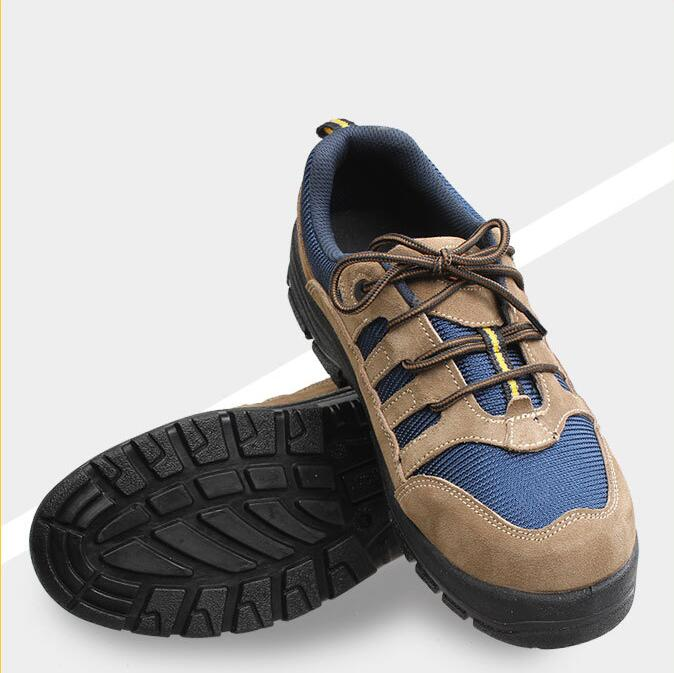 Excellent -BBLJ-safety shoes, anti break, insulation shoes, wearable and breathable building site protective shoes feel and find fun building site