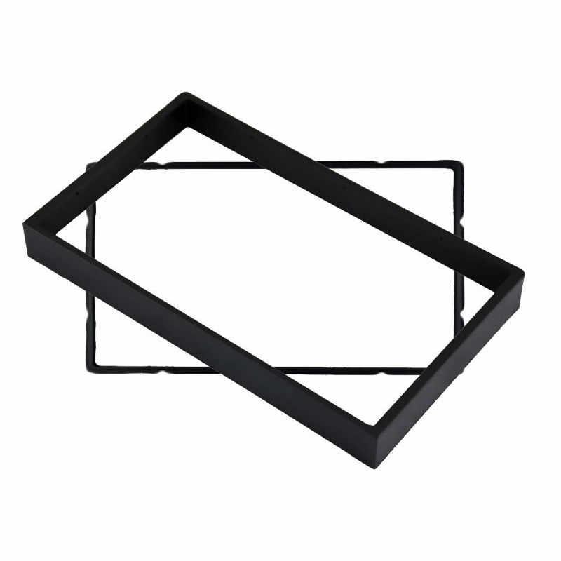 LEEWA 2Din Fascia para BUICK Excelle CHEVROLET Lacetti Nubira y Optra Aveo SUZUKI Forenza Verona Dash Trim Kit marco rodeado