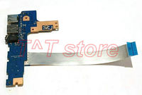 original for HP PAVILION 17 AB 17 AB051SA series POWER BOTTON SWITCH USB AUDIO with cable DAG37ATB8D0 free shipping