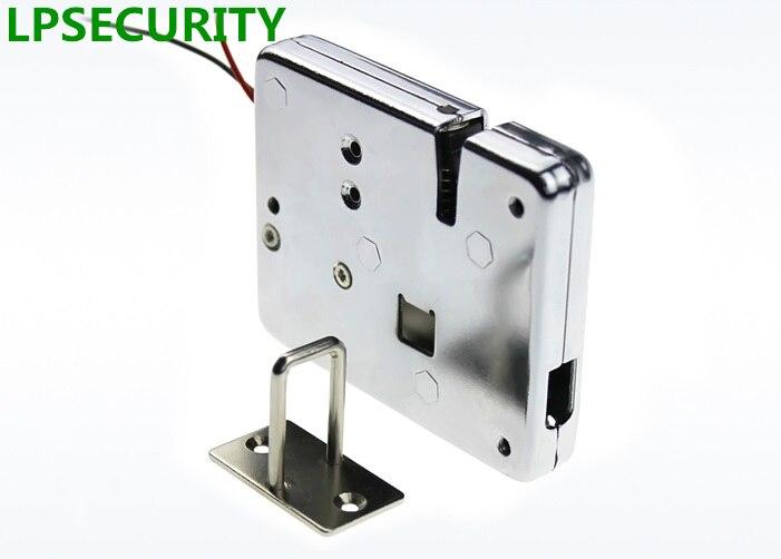 LPSECURITY 1ชิ้นDC 12โวลต์ล็อคล็อคแบบอิเล็กทรอนิกส์ล็อคขาย เครื่องจัดเก็บชั้นวางตู้เก็บเอกสาร-ใน ล็อกไฟฟ้า จาก การรักษาความปลอดภัยและการป้องกัน บน title=
