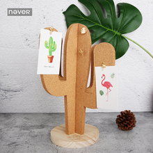 Купить с кэшбэком NEVER Plant Series Push pin Cork Board Message memo notes Boards thumb tack accessories office accessories supplies Stationery