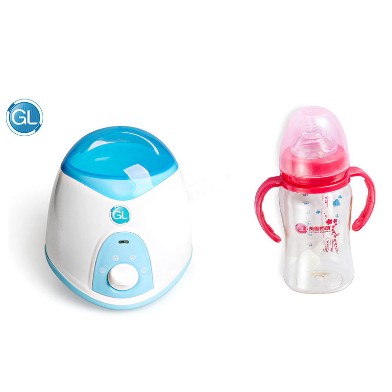 GL Smart Baby Bottle Warmer Sterilizer Multifunction Milk Water Food Egg Heating with Baby Feeding Wide Mouth Milk Bottle Feeder
