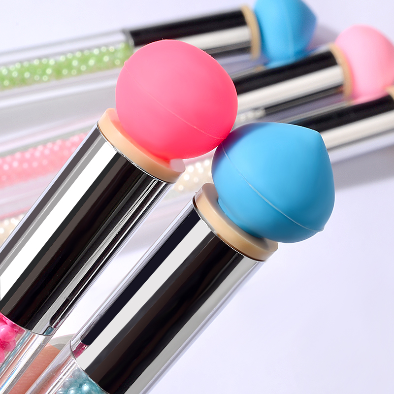 Double ended Silicone Gradient Blooming Nail Brush Pen DIY Colorful Rhinestones Shading Drawing Painting Pen Manicure Nail Tools in Nail Brushes from Beauty Health