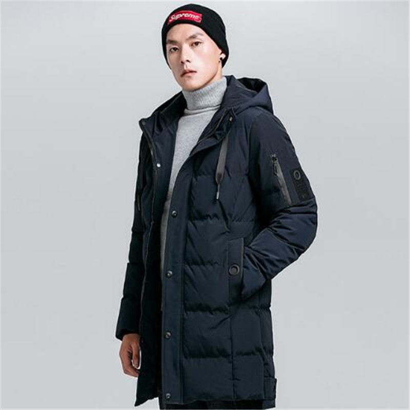 High quality winter new hooded thickened warm cotton clothes 2018 coat men's youth casual  Men's cotton wear