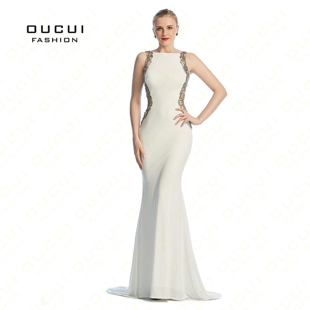 Jersey Fabric 100% Handwork vestidos longos Long Sexy Long   Evening     Dress   OL102861