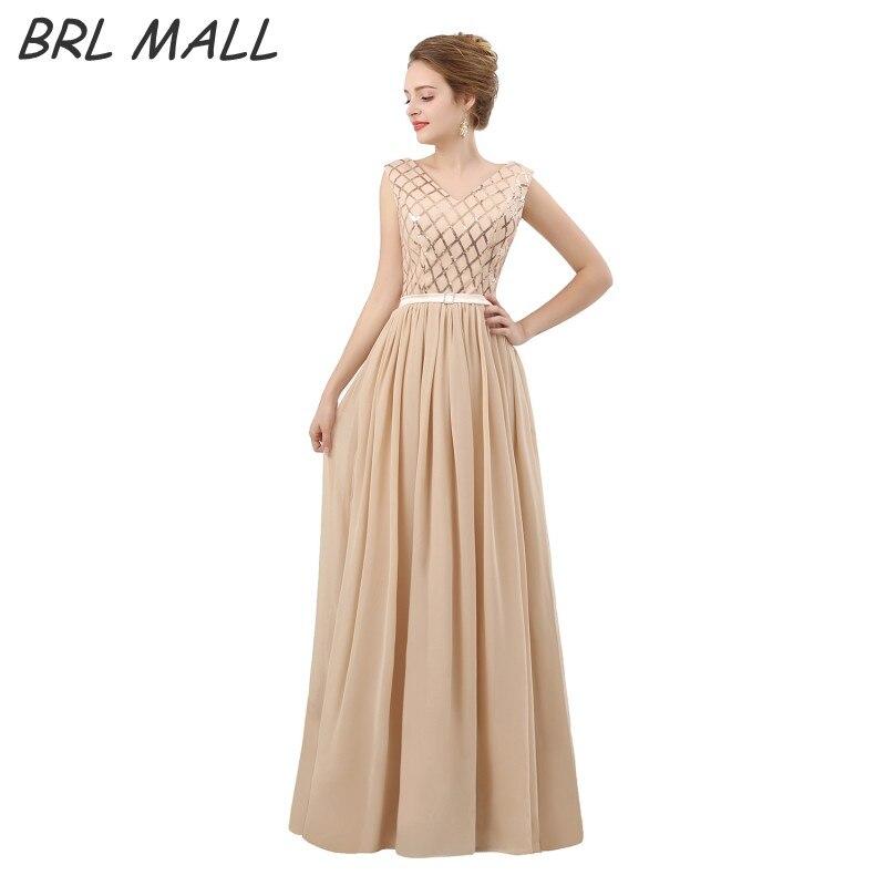 Robe De bal en Champagne sur mesure robe De soirée à lacets en mousseline De soie ligne a-étage longueur robe De soirée robe De Festa