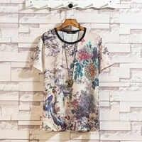 Manga curta t shirt men 2019 verão de alta qualidade tshirt topo t 3d impressão marca roupas moda plus size M-5XL 6xl 7xl o pescoço